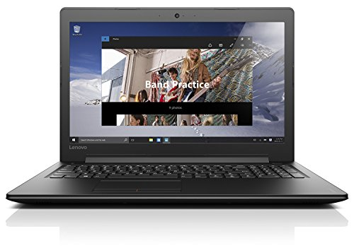 Lenovo IdeaPad 310 39,6 cm (15,6 Zoll Full HD TN) Notebook (Intel Core i5-7200U, 12GB RAM, 256GB SSD, DVD, Intel HD Grafik 620, Windows 10 Home) schwarz (Notebook)