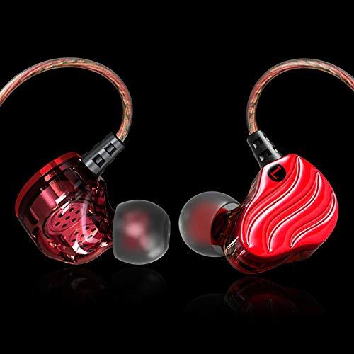 Mouchao KD4 Portable Double Dynamic Drive Sport-Kopfhörer-Headset Schweißfeste Kopfhörer
