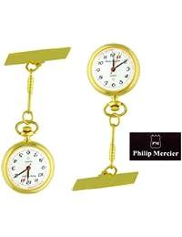 (Philip Mercier) reloj de bolsillo de cuarzo