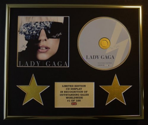 LADY GAGA/CD-Darstellung/Limitierte Edition/COA/THE FAME -