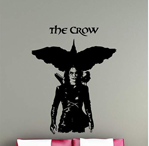 Wandaufkleber Film Superheld The Crow Vinyl Wandaufkleber Wandbilder Home Kreative Kunst Design Wandtattoo Zimmer Spezielle Dekor Wand Poster 57x75 cm