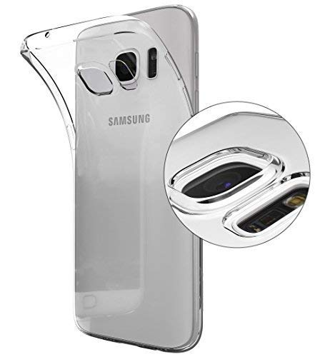 Dolphin..© Kompatibel mit Samsung Galaxy S7 [Anti-Rutsch] - [Blasenfrei] - [Ultra Slim] Hülle Soft Silikon Transparent Dünn Schlank Bumper Handyhülle Kratzfest TPU Durchsichtig Schutzhülle Klar Case
