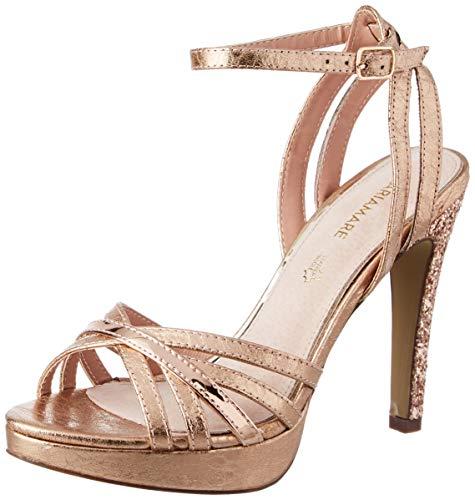 Mariamare 67542, Sandali con Cinturino alla Caviglia Donna, (Mivi Rose/Espejo Oro Rosa C46202), 41 EU