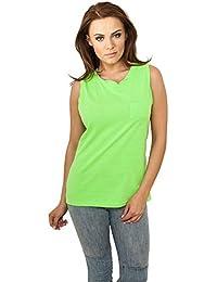 Débardeur Top Long pour Femme Tshirts sans maches Urban Classics