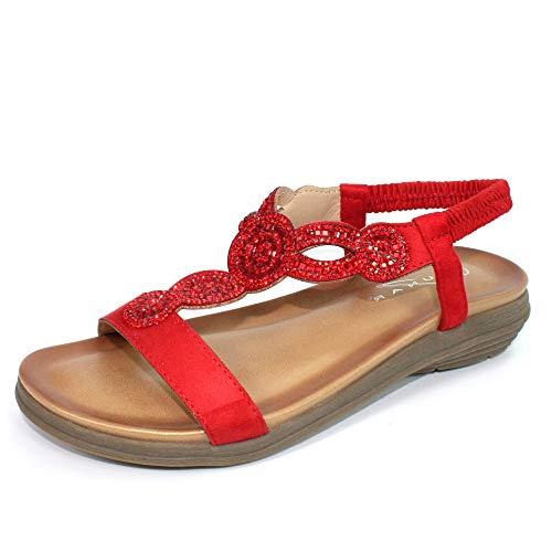 lunar bondi gemstone 't' bar sandal