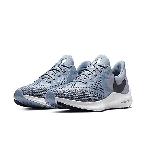 Nike Womens Zoom Winflo 6 Running Sneaker Indigo Fog/Monsoon Blue AQ8228-400 -
