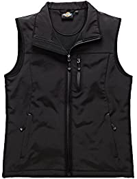 Dickies BW7001 BK 3XL Size 3X-Large Kenton Softshell Gilet - Black
