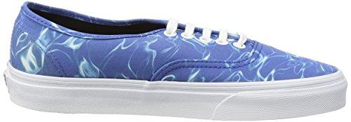 Vans Authentic, Sneakers Basses Mixte Adulte Bleu (Bleue (Water - Strong Bleue/True Blanc)