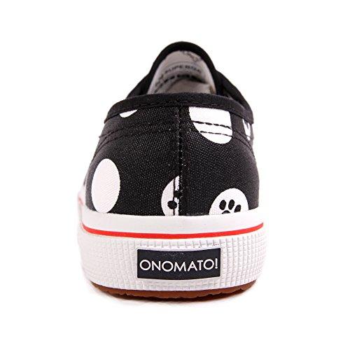 Superga 2750 Fancot Belle Onomato W Pois Black White Black