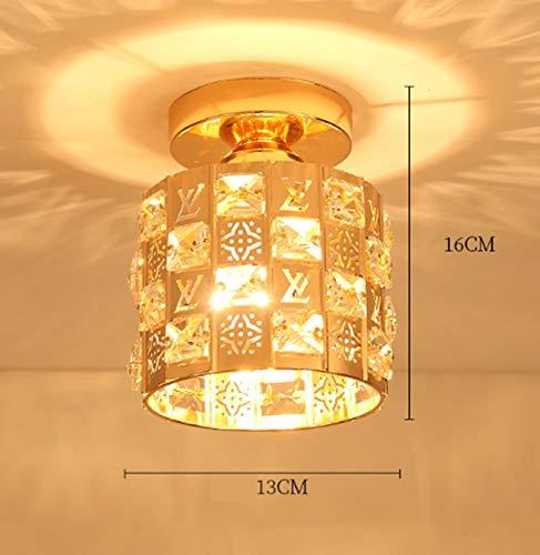 Phil Lights X Lampara Techo Cristal Personalidad De Lujo Cálido Y Romantico...