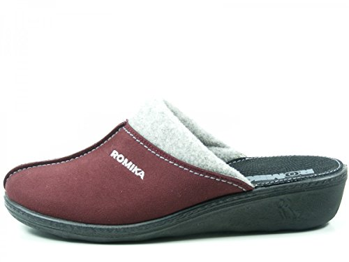 Romika 60101-87 Romilastic 301 Pantofole Donna Rot