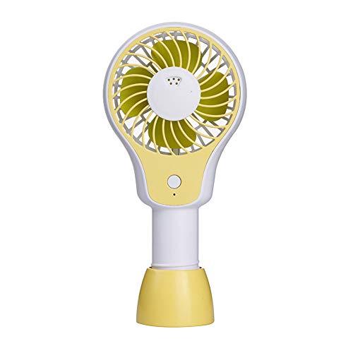 ZLYGY Ventilador de Aromaterapia de Mano USB con Base Desmontable, Ruido Bajo,...