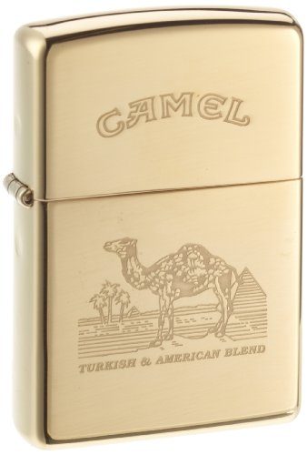 Zippo 1150005 Camel Turkish - Brass high polished