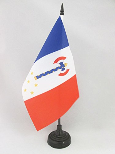 vichy-france-of-petain-table-flag-5-x-8-french-state-regime-desk-flag-21-x-14-cm-black-plastic-stick