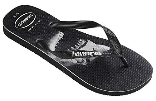 HAVAIANAS.., Unisex-Erwachsene Zehentrenner, Mehrfarbig - Top Photoprint 1103 Black - Größe: 43 44 EU(40/41 BR)