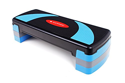 Steppbrett Aerobic Fitness Stepper Heimtraining Board Bauch Beine höhenverstellbar