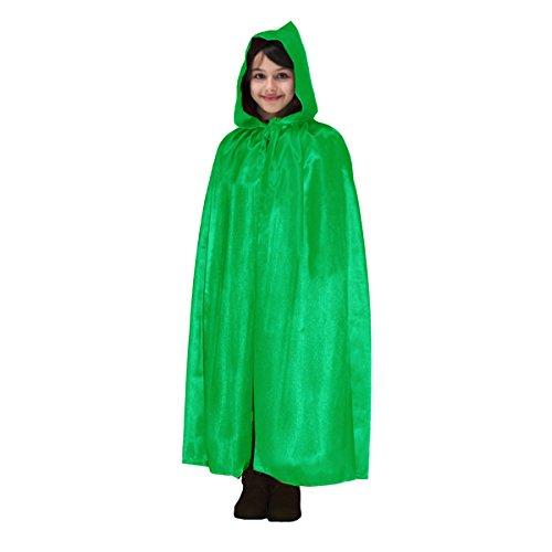 Pegasus mantello con cappuccio halloween bambino bambina verde - taglia 9/12 a