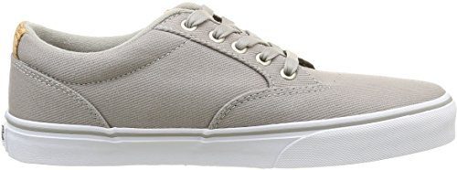 Vans Winston, Baskets Basses Homme Gris (Washed Twill/Ice Gray/Blanket)
