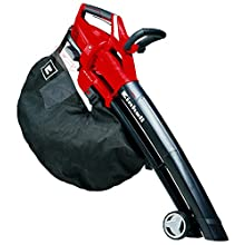 Einhell Cordless Leaf Blower vac GE-CL 36 Li E-Solo Power X-Change (2 x 18 V, 210 km/h air Speed, Electronic Speed Control, Brushless Motor, 45 l catch bag, Supplied without a Battery or Charger)