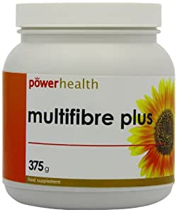 Power Health 375g Multi Fibre Plus Carob Flavour Powder