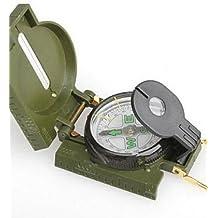 PIGE Portátil plegable multi de la función del compás militar con la lupa
