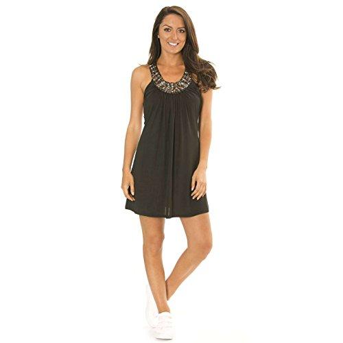 Miss Drag Line Damen Kleid schwarz schwarz, schwarz, 2202.004.3417