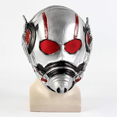 VAWAA Ant Man Maschera Antman Kostüm Resina Ant-Mann Helm Cosplay Maschera Di Halloween Mascaras Maschere Batman Iron Man - Ant Mann Kostüm Kinder