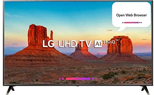 LG 108 cm (43 inches) 4K Smart LED TV 43UK6360PTE (Black) (2018 model)
