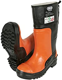 Oregon Yukon Bottes de sécurité en caoutchouc Protection contre tronçonneuse, 295385/48