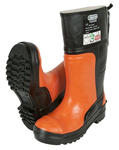 Oregon 295385/42 - Bota de seguridad de goma protectora yukon motosierra
