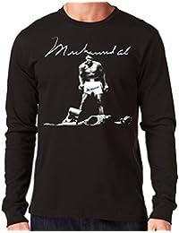 c99ce9b12 35mm - Camiseta Hombre Manga Larga - Muhammad Ali - Boxeo-Boxing - Long  Sleeve