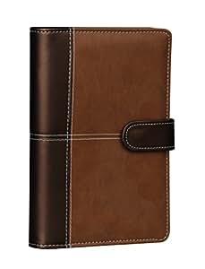 Elegante Agenda organizer formato A6 con penna e tasche portabiglietti