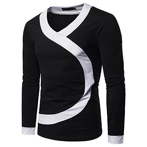 487f1cf9c06e07 Styledresser promozione Camicie da Uomo,Giacche da Uomo Camicia O-Collo  Manica Lunga Manica