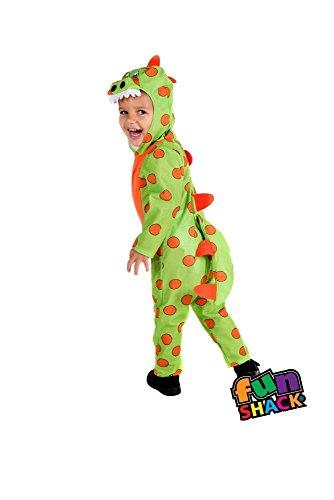 Fun Shack Kostüm Dinosaurier Kostüm Kleinkind Kind Alter 3-4 Jahre