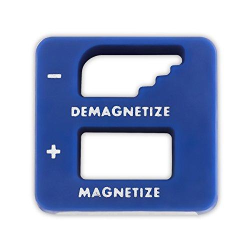 Blau Präzision Entmagnetisierer/Magnetisierer–Für Schraubendreher, kleine Werkzeuge, großen und kleinen Schrauben, Bohrer, Bits, Stecknüsse, Muttern, Schrauben, Nägel und Konstruktion Werkzeuge–von katzco