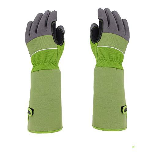 Gartenhandschuhe für Gartenarbeiten, Gartenarbeit, Thornproof Atmungsaktive Handschuhe für Damen und Herren, Garten-Pflanzenpflege, 1 Paar