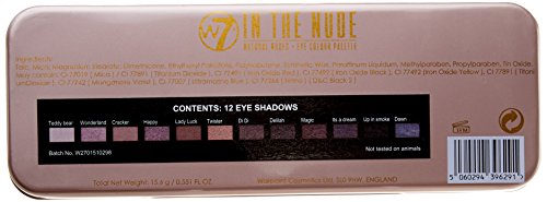 W7 Colour Me Nude Eye Colour Palette 15.6 g - 12-Piece