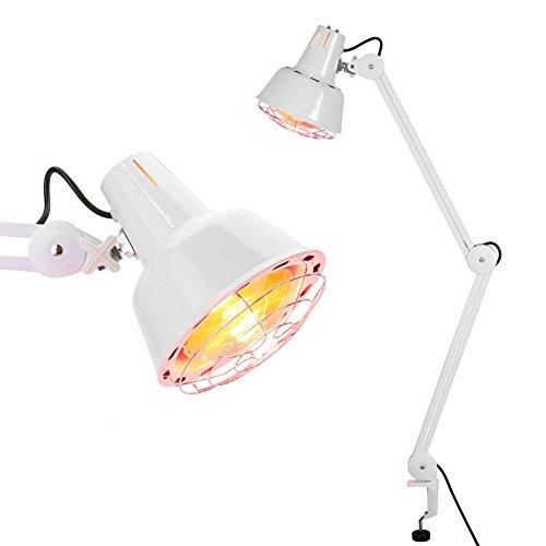 Heizlampe, verstellbarer Kopf Stand Hitze Licht Gerät für Ganzkörper-Muskelgelenk Rückenschmerzen - Für Rückenschmerzen Gerät