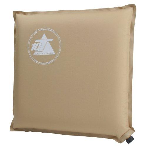 10T Sam Box selbstaufblasende Isomatte Kissen 40x40x6cm mit Messingventil Reisekissen Luftkissen Kopfkissen aufblasbares Kissen