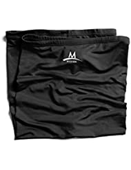 Mission Tech Knit Multi-Cool - Toalla para hombre, color negro, talla OSFM
