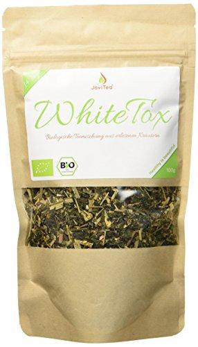 Reinigende Diät-detox (JoviTea WhiteTox BIO Tee + 14-Tage Body Tee 50 Portionen + 100% natürlich und zuckerfrei + Leckere Kräuter- und Fruchtmischung + 100g)