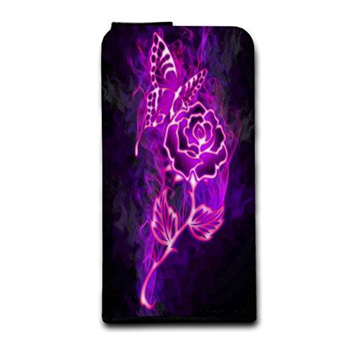 à clapet vertical Housse Case Coque Photo Motif Étui pour Apple iPhone 5/5S Design au choix–Sélection V4, Design 1 (Pourpre) - SB-Vertikal V4 Design 9
