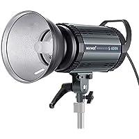 Neewer Profesional Estudio Flash Estroboscópico Monoluz - 400W Gn.60 5600K con Lámpara Modelada para Fotografía de Interior Estudio Ubicación Fotografía Modelo y Fotografía de Retrato (S400N)
