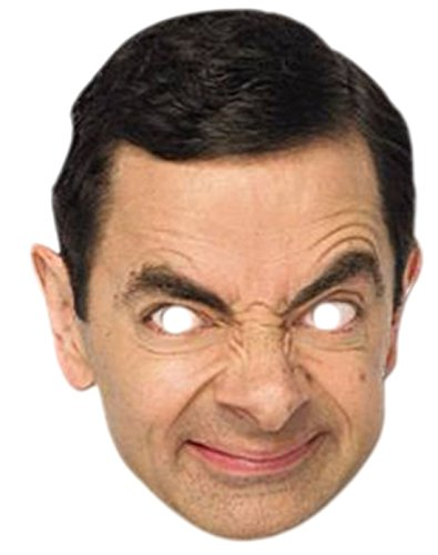 senen Mr. Bean Karneval Faschingsmaske, Mehrfarbig (Pferd Kostüm Make-up)