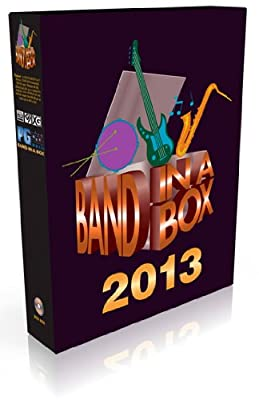 Band-in-a-Box and RealBand 2013 Music Software for Windows