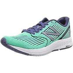 New Balance Revlite 890v6, Zapatillas de Running para Mujer, Verde (Neon Emerald/Indigo Ne6), 39 EU