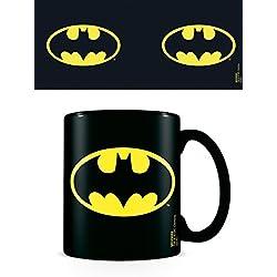 DC Comics Taza de cerámica Batman Logo