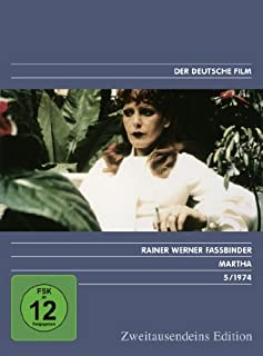 Martha - Zweitausendeins Edition Deutscher Film 5/1974.