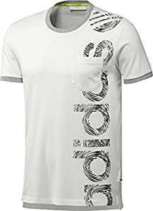 Adidas t-shirt coton taille s nEO l sC pK t runwhite/noir