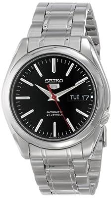 Seiko Reloj Analógico Automático para Hombre con Correa de Acero Inoxidable - SNKL45K1